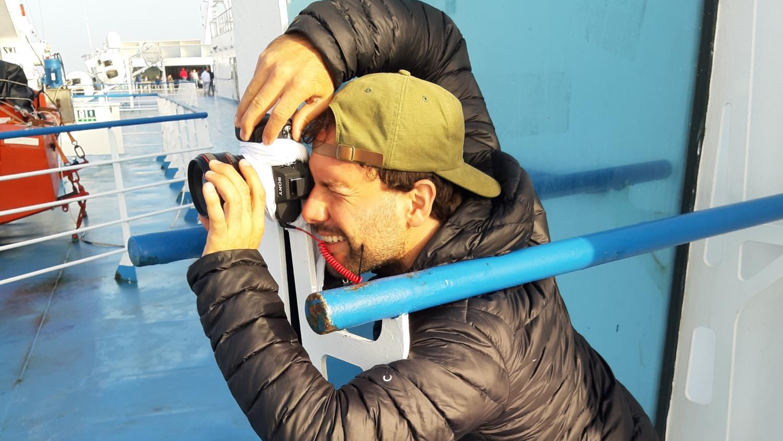 Robert fotografiert