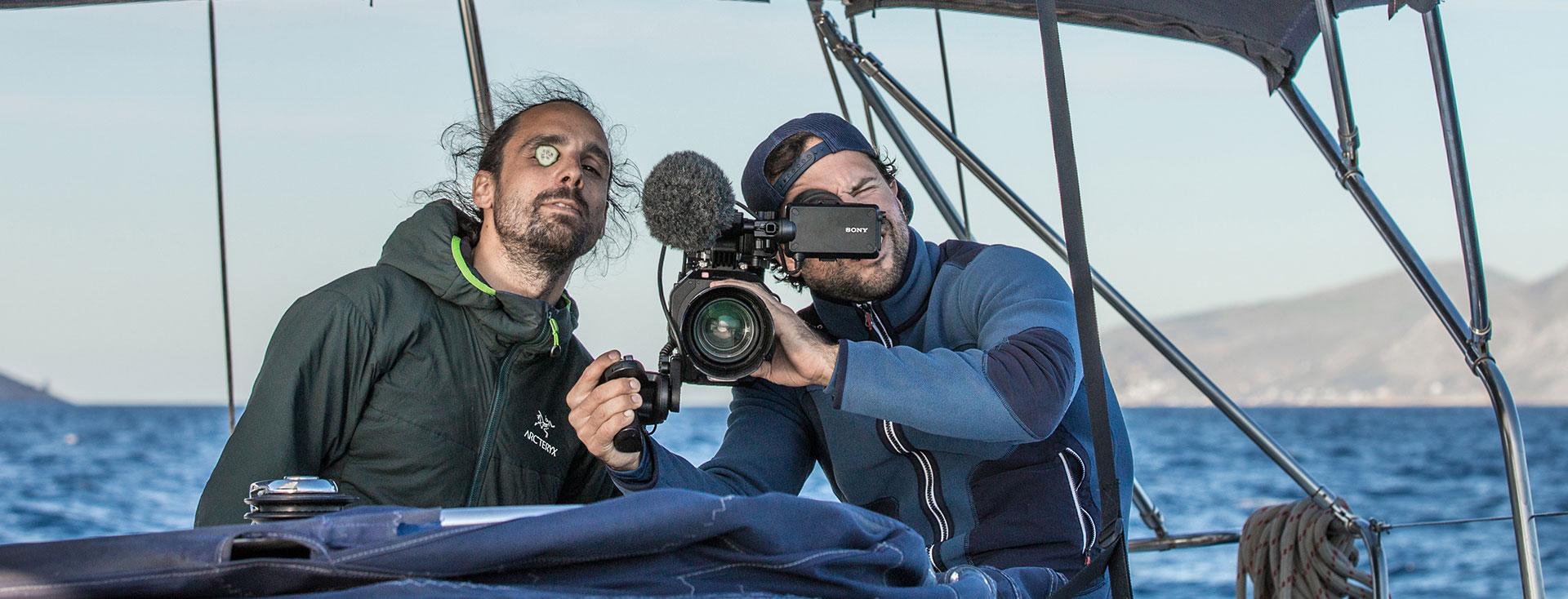 Ein wenig Spass muss sein SegelExpedition